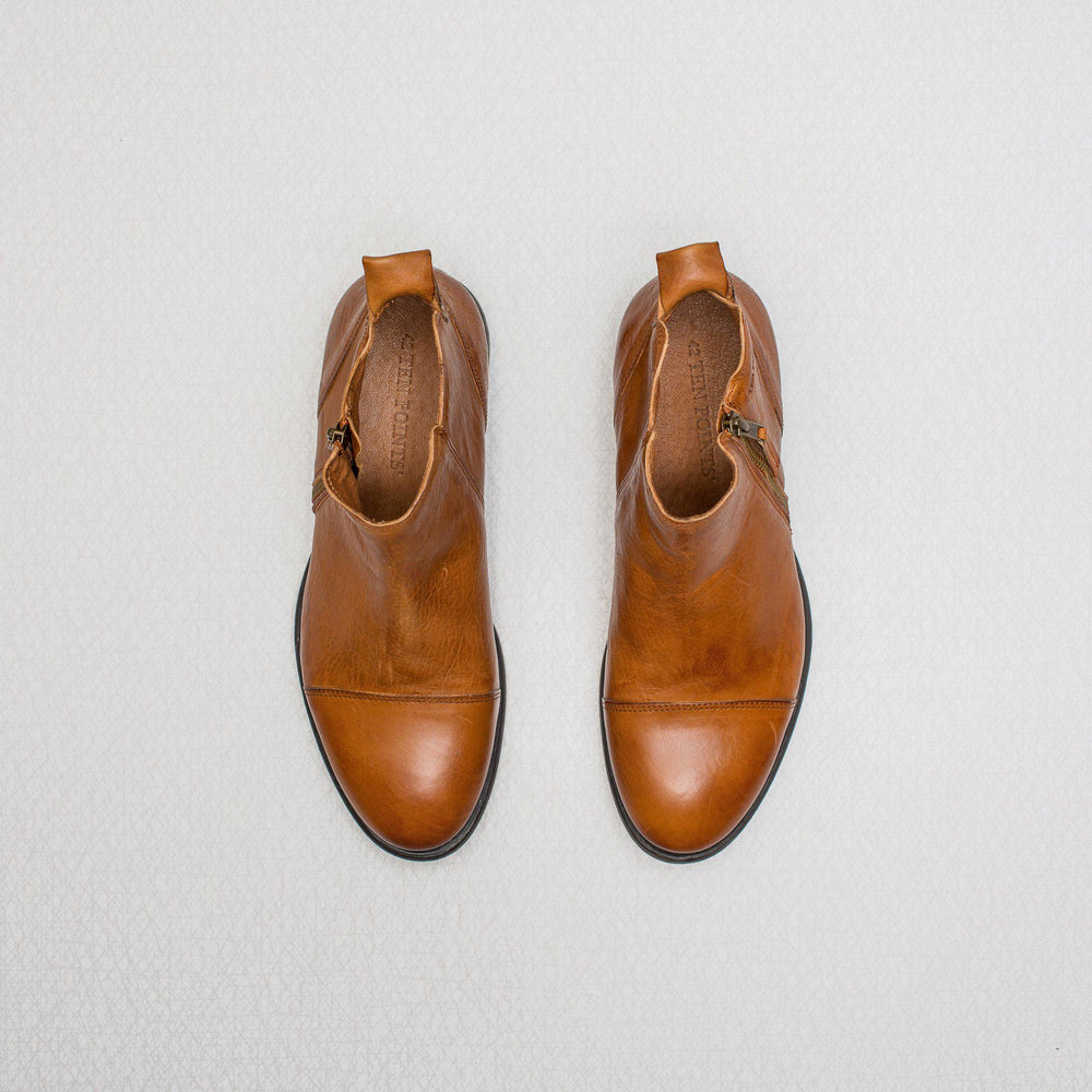 David | vegetable tanned leather