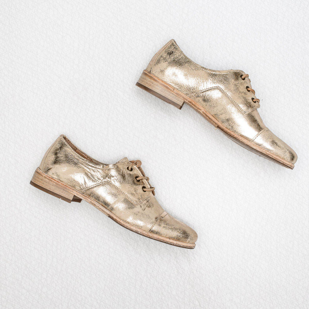 Elise | metallic leather