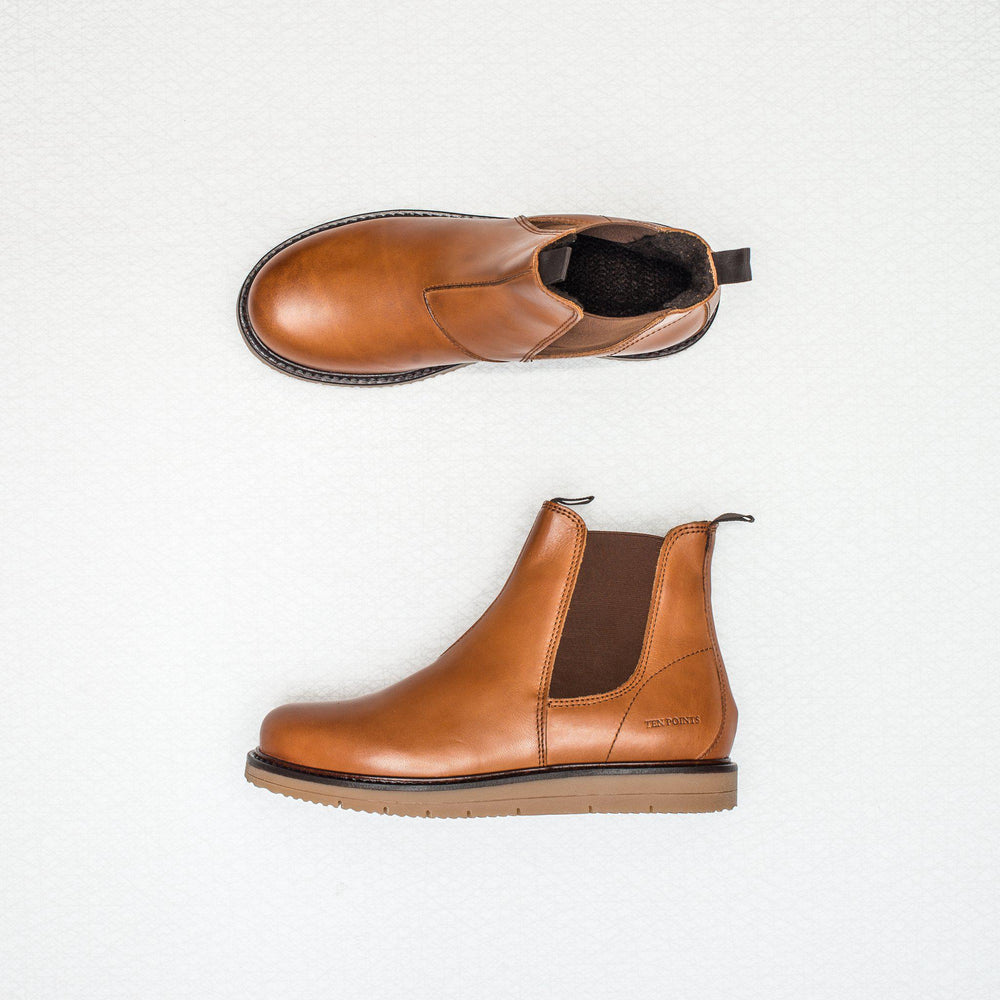 Carina | brushed leather