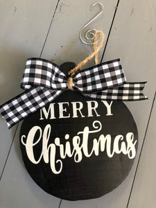 Merry Christmas-Ornament