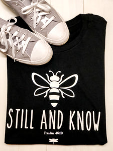 """Bee"" Still and Know Soft T-Shirt"
