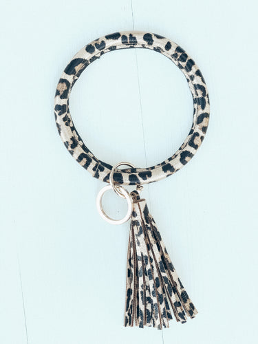 Leopard Bangle Keychain