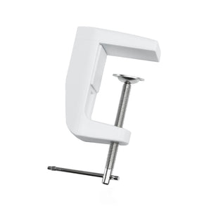 Adjustable Replacement Clamp for Lamps - White