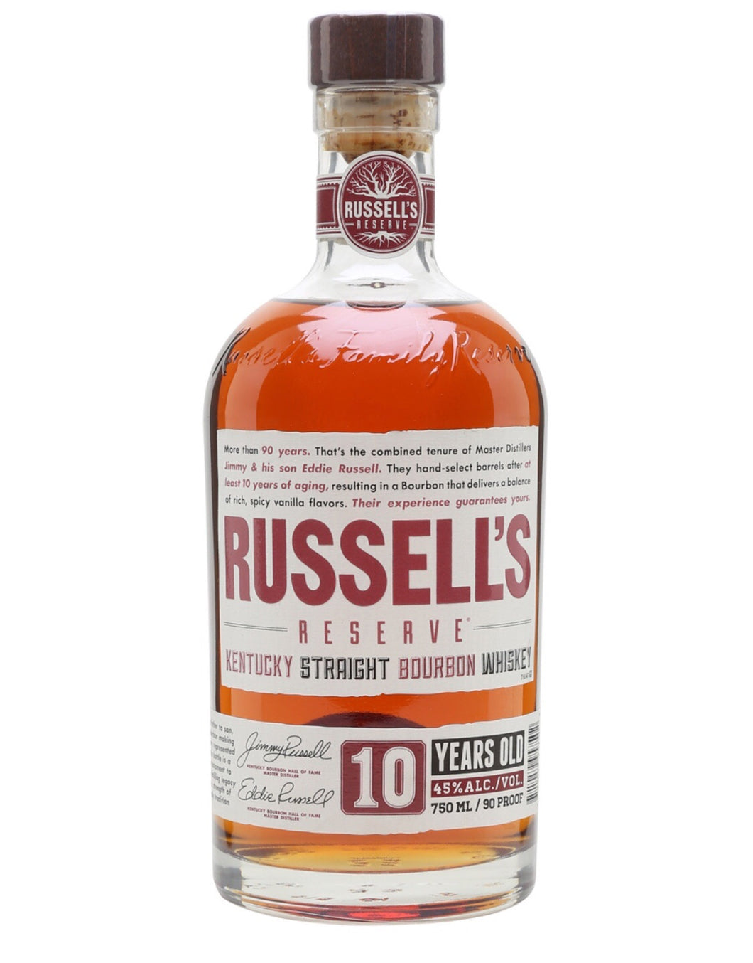 Russell's 10YR 750ml
