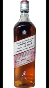 Johnnie Walker wine cask 750ml