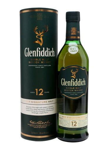 The Glenfiddich 12Y 750ml