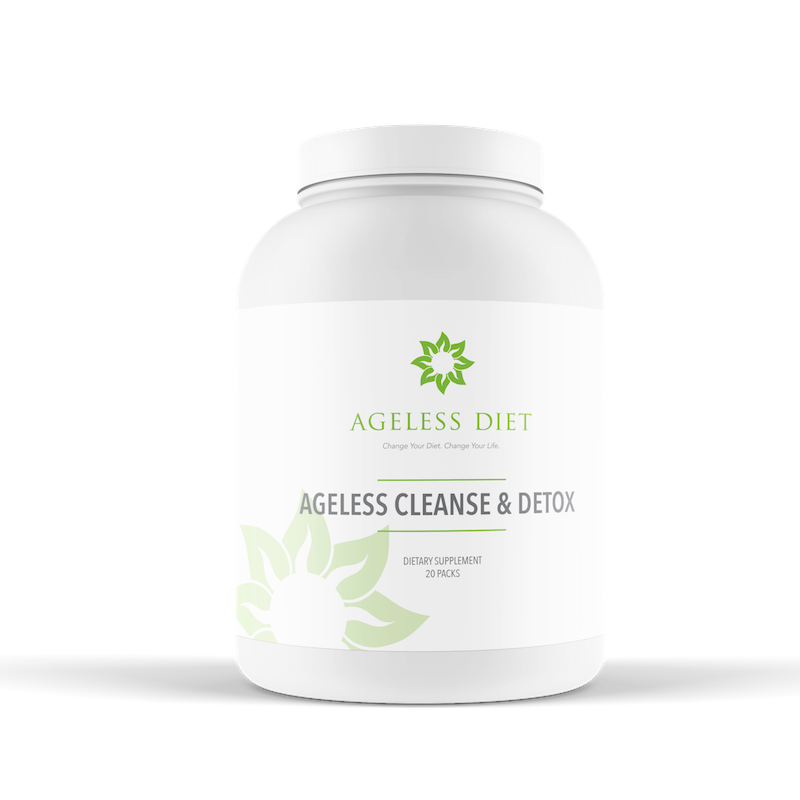 Ageless Cleanse + Detox protein powder restores your gut to optimal health. A scoop of this in a morning smoothie can work as meal replacement, with power-packed antioxidants and protein to keep you going strong.