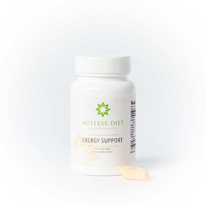 The B vitamins in our Energy Support help your body make energy from the food you eat and form red blood cells.