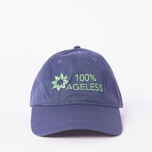 Dark Blue 100% Ageless Baseball Cap