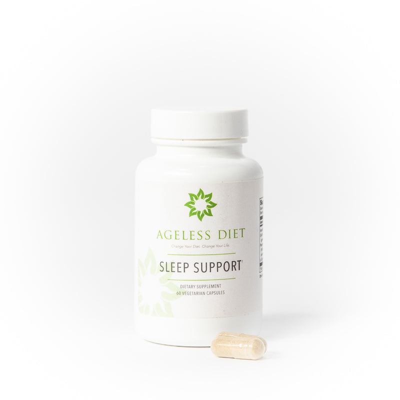 The Sleep Support supplement is an effective blend of critical amino acids and nutrients that provide support for a calmer brain.