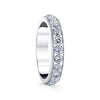 18K WHITE GOLD DIAMOND ETERNITY WEDDING/ANNIVERSARY BAND