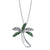 14K DIAMOND PALM TREE NECKLACE