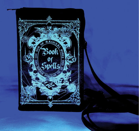 Book Of Spells Glow in the Dark Bag