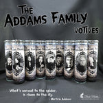 The Addams Family Styled Candles