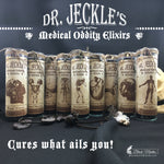 Dr. Jeckle's Medical Oddity Elixirs Apothecary Candles