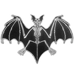 Skeleton Bat Patch