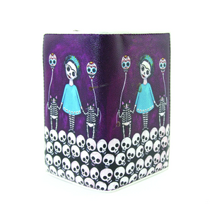 Skeleton Girl With Cats Wallet