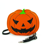 Sleepyville Critters - Pumpkin Two Faced Jack-O-Lantern Crossbody