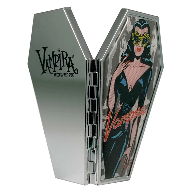 Vampira Comic Ghoul Coffin Compact