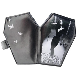 Vampira Mist Coffin Wallet by Kreepsville 666