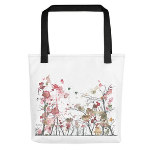 """Spring Forest"" by artist Amy Martin - Tote bag"