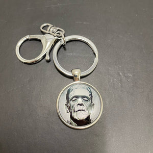 Frankenstein's Monster & Bride Keychains