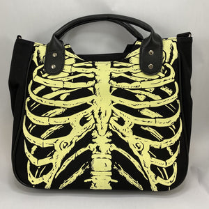 Glow in the Dark Rib Cage Bag