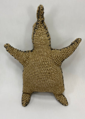 Oogie Boogie Inspired Crochet Doll