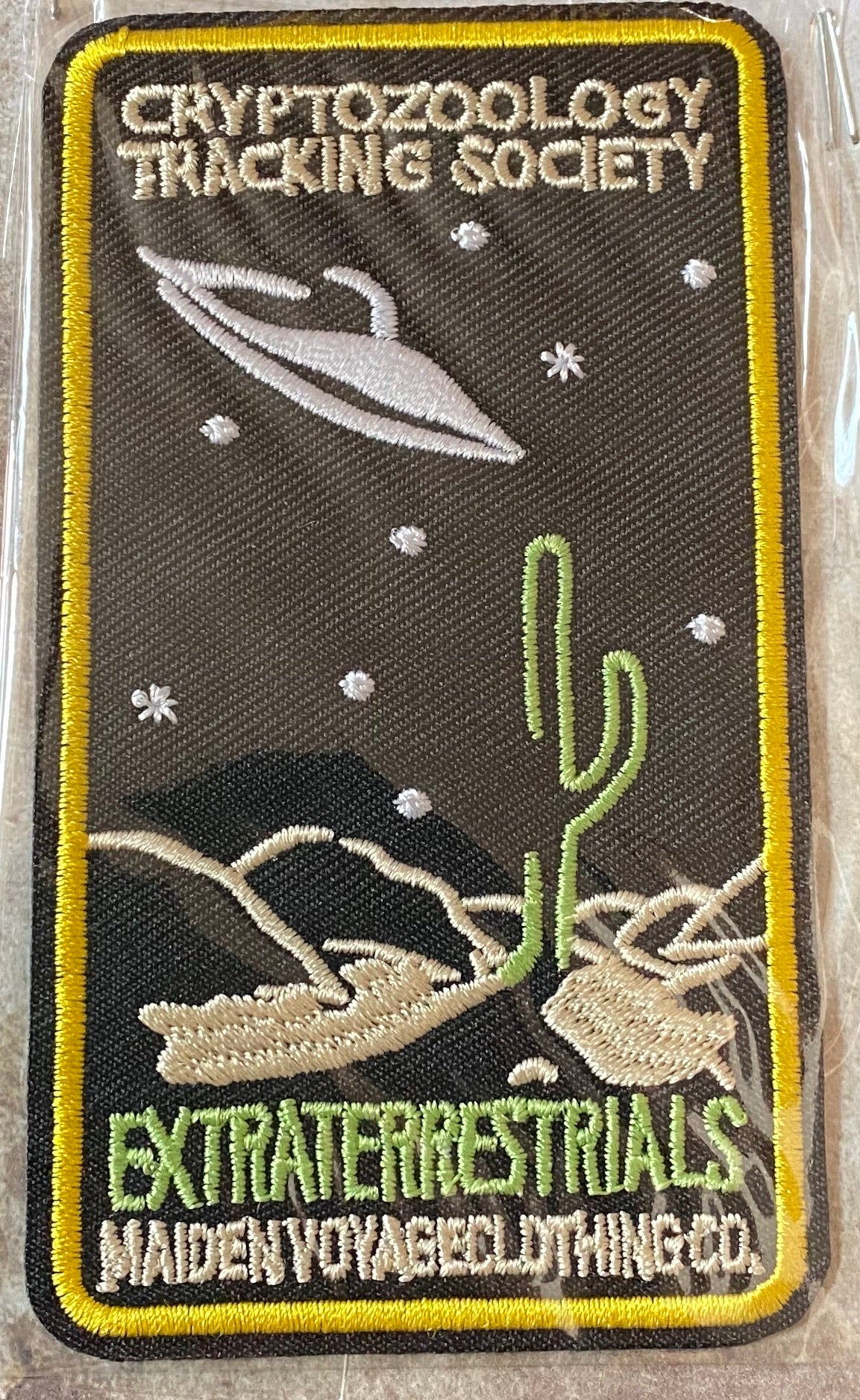 Cryptozoology Patches