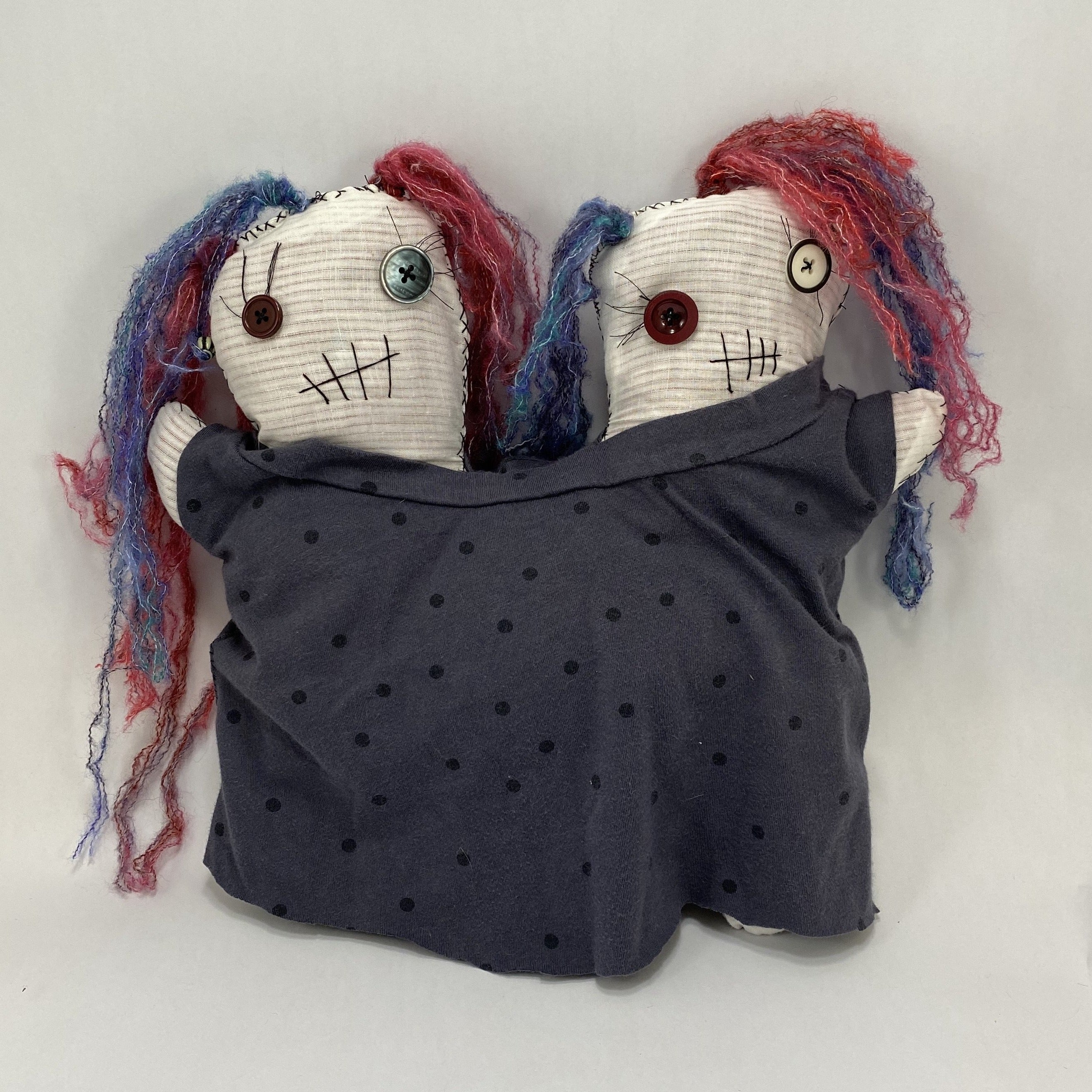 Conjoined Twins Voodoo Doll - Jilda and Hilda