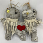 Conjoined Twins Voodoo Doll - Bee and Honey