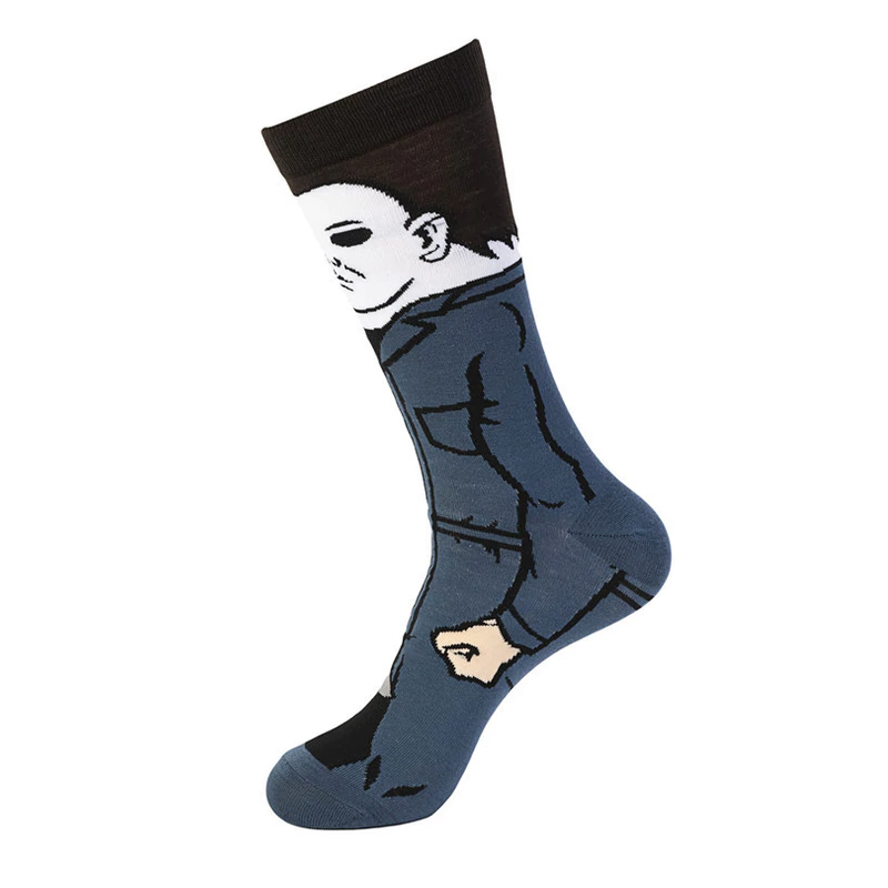 Horror Celebrities Socks