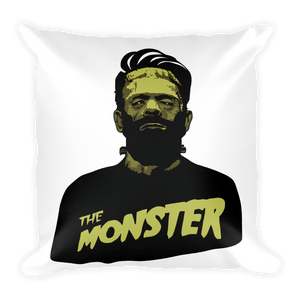 The Monster Square Pillow