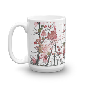 """Spring Forest"" by artist Amy Martin - Mug"