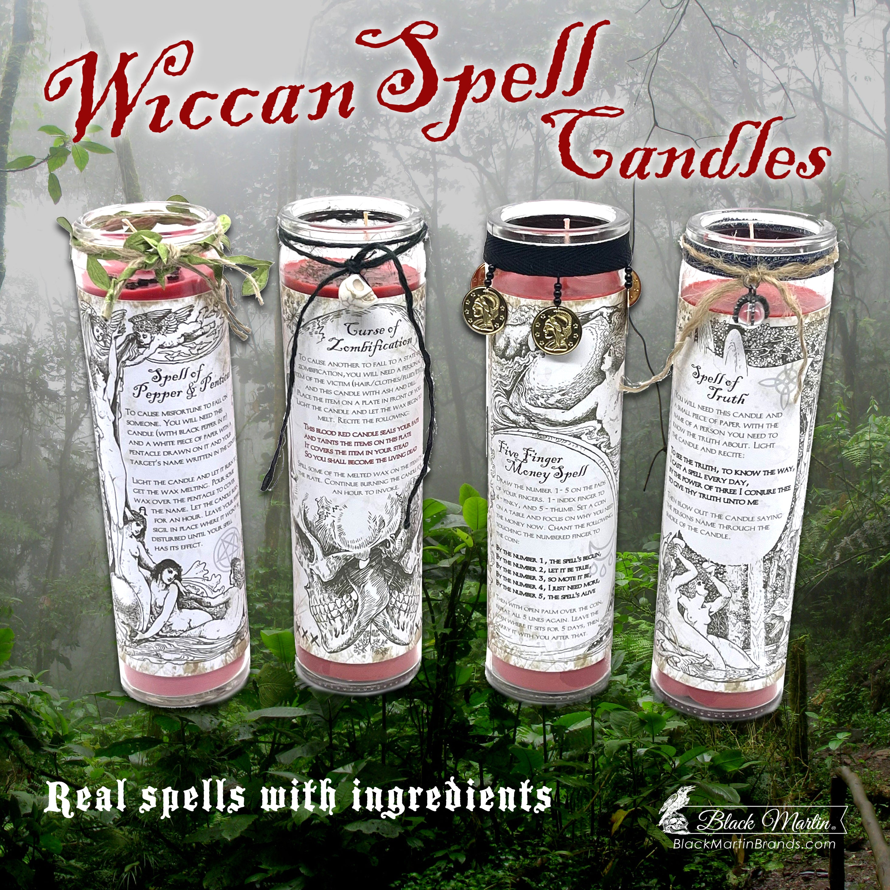 Wiccan Spell Candles