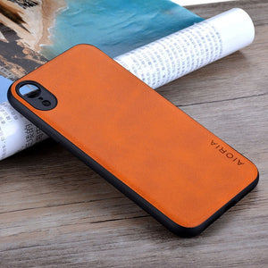 Funda Leather Skin Case