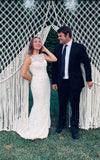 Macramé Wedding Backdrop