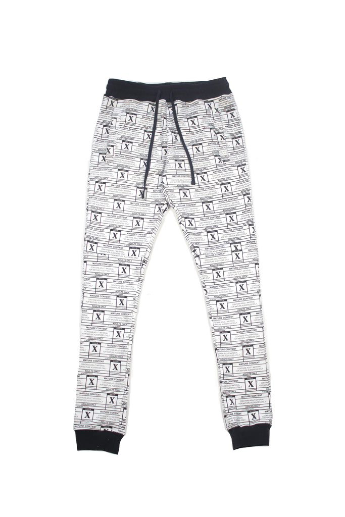SSUR X Brazzers 'Adult Materials' All Over Print Sweatpant