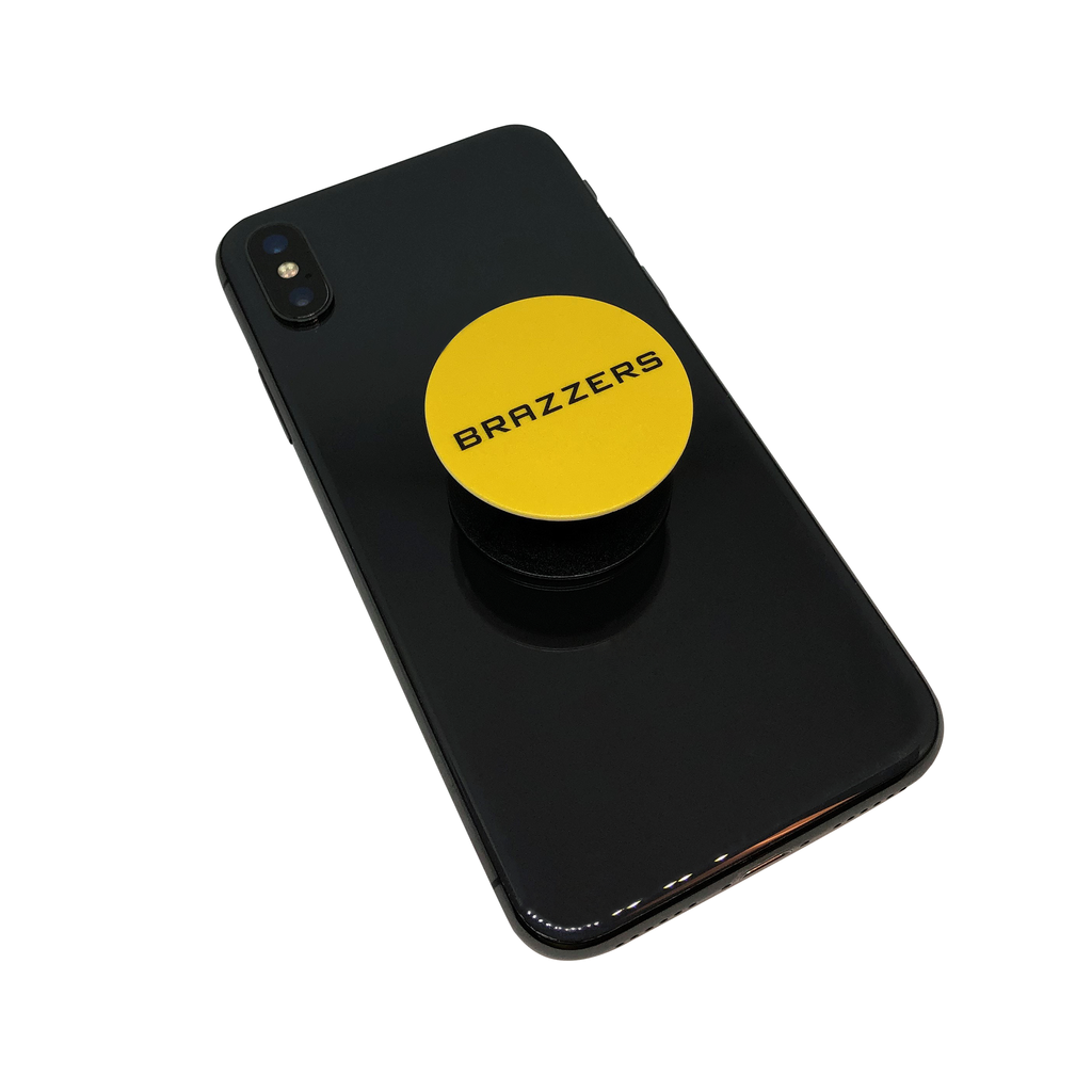 Brazzers Popsocket Yellow