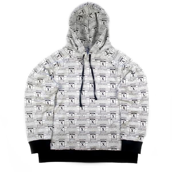SSUR X Brazzers 'Adult Materials' All Over Print Hoody