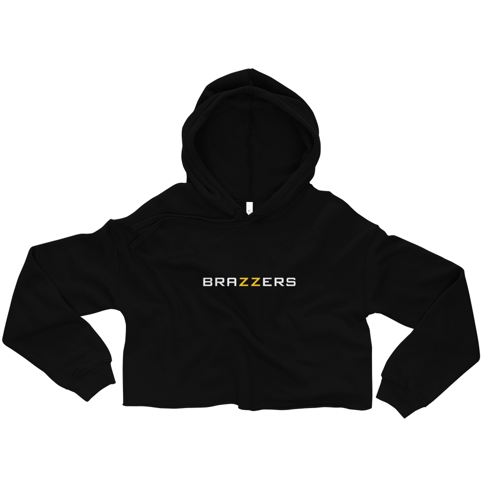 Brazzers Women's Cropped Hoodie
