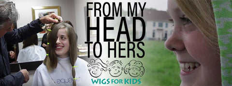 Wigs For Kids Charity Partner