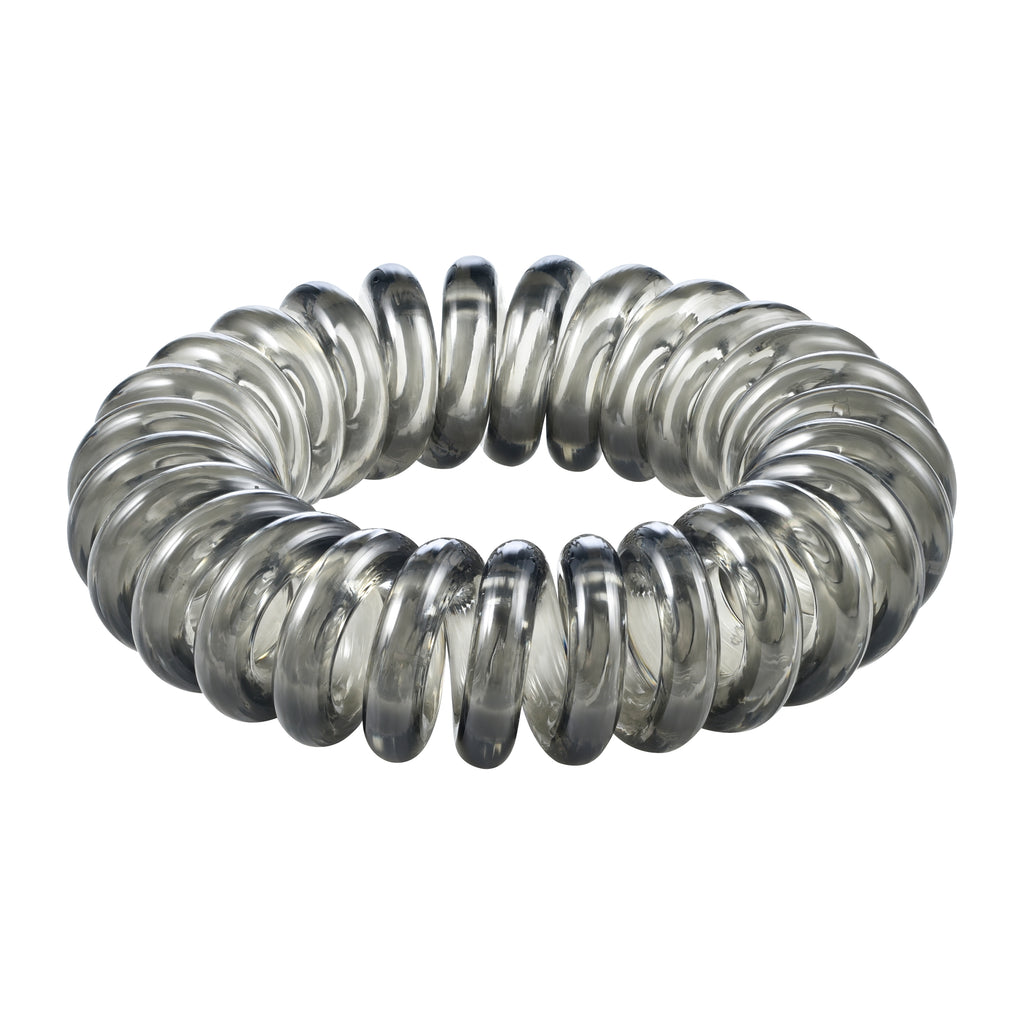 Active Grey Spiral Hair Tie