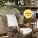 Padmas Plantation lifestyle image of wicker chair