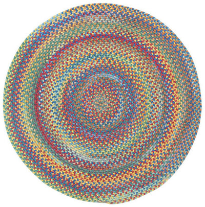 American Legacy round rug