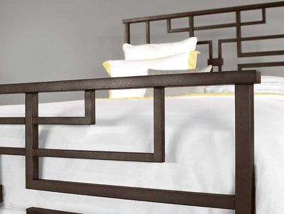 Wesley Allen Bradford King/Queen Bed Detail