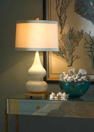 Whitney Lamp Snow Tone Decorative Lighting Wildwood Home Lifestyle Image 2
