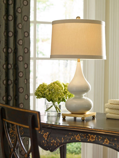 Whitney Lamp Snow Tone Decorative Lighting Wildwood Home Lifestyle Image 3
