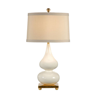 Whitney Lamp Snow Tone Decorative Lighting Wildwood Home Main Image
