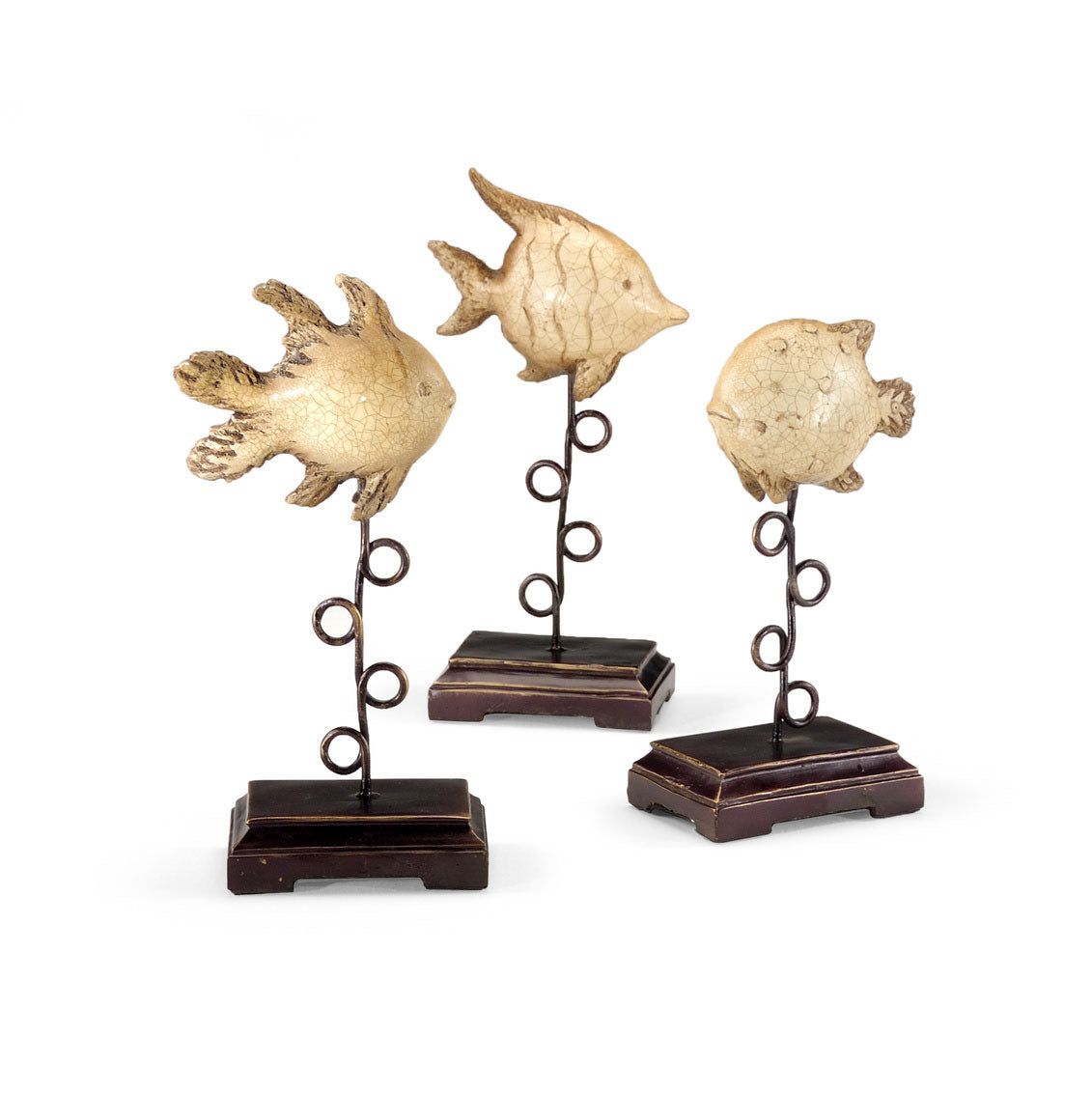 Plinthed Fish (Set of 3)
